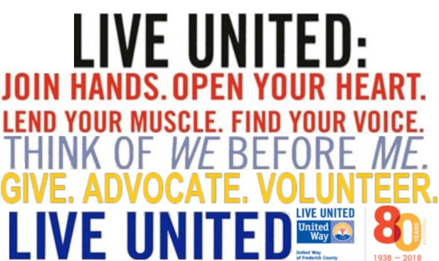 5a5383964 Taking Action! United Way of Frederick County